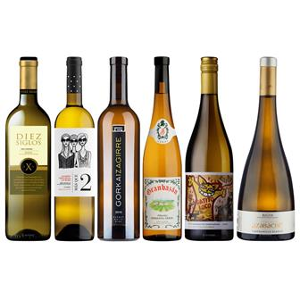 Spanish White Discovery Mixed Wine Case thumbnail