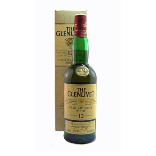 The Glenlivet 12 years old 40% 70cl Image 1
