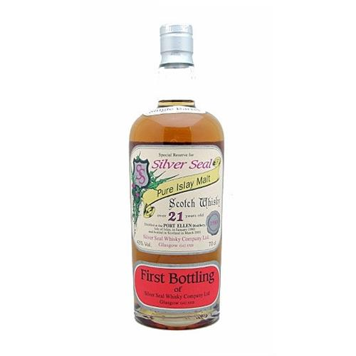 Port Ellen 21 years old Silver Seal 43% 70cl Image 1