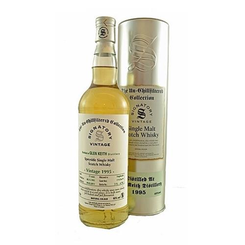 Glen Keith 1995 15 years old Signatory 46% 70cl Image 1