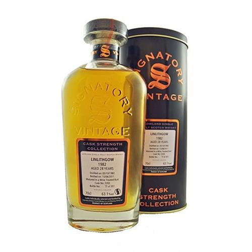 Linlithgow 1982 28 years old 63.1% 70cl Signatory Image 1