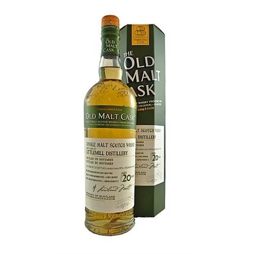 Littlemill 1991 20 years old Old Malt Cask 50% 70cl Image 1