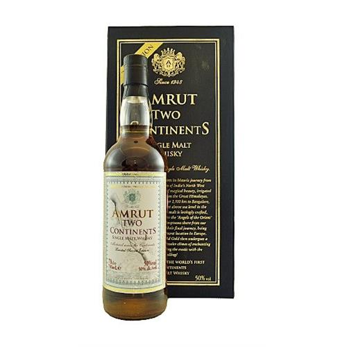 Amrut Two Continents 2nd Edition 50% 70cl Image 1