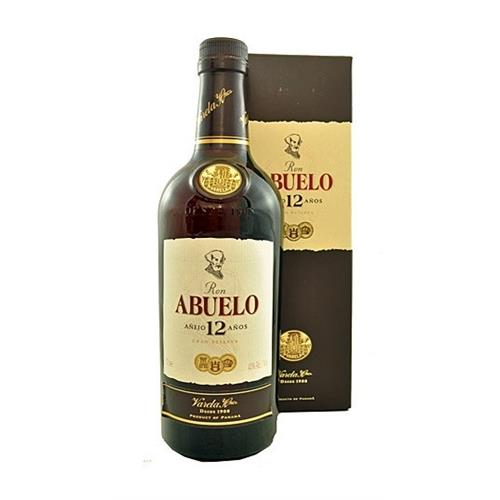 Ron Abuelo 12 years old Gran reserva 40% 70cl Image 1