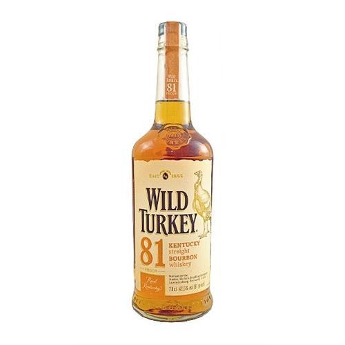 Wild Turkey Bourbon 40.5% 70cl Image 1
