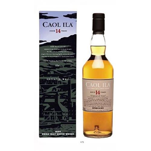 Caol Ila 14 years old Unpeated 59.3% 2012 release Image 1