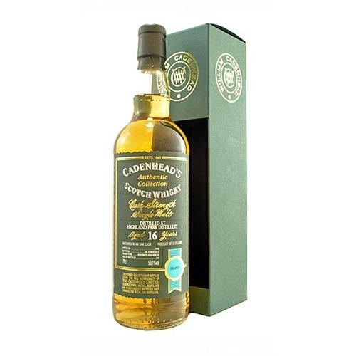 Highland Park 16 years old 1996 Cadenheads 53.1% 70cl Image 1