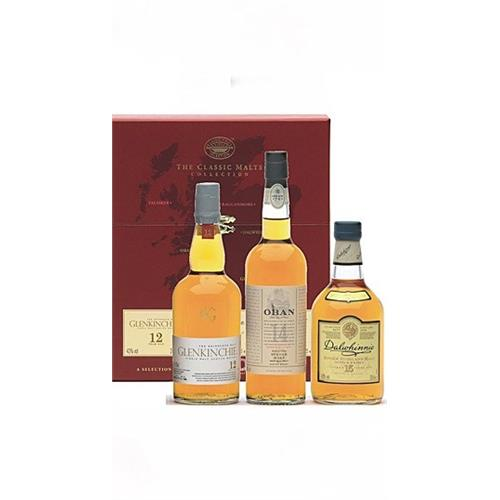 The Classic Malts Gift Pack Gentle 3x20cl Image 1