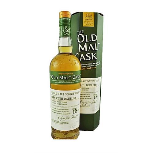 Glen Keith 1993 18 years old Old Malt Cask 50% 70cl Image 1