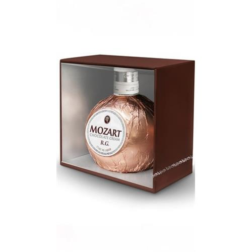 Mozart Chocolate Rose Gold Cream 17% 70cl Image 1