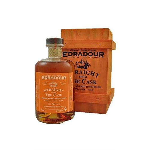 Edradour 10 years old Marsala Cask Straight from the Cask 57% 50cl Image 1