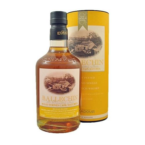 Edradour Ballechin Sauternes Cask #8 Heavily Peated 46% 70cl Image 1