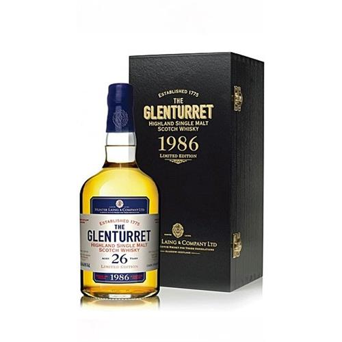 Glenturret 1986 26 years old Hunter Laing 46.8% 70cl Image 1