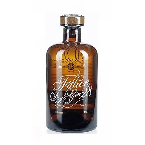 Filliers Dry Gin 28 46% 50cl Image 1