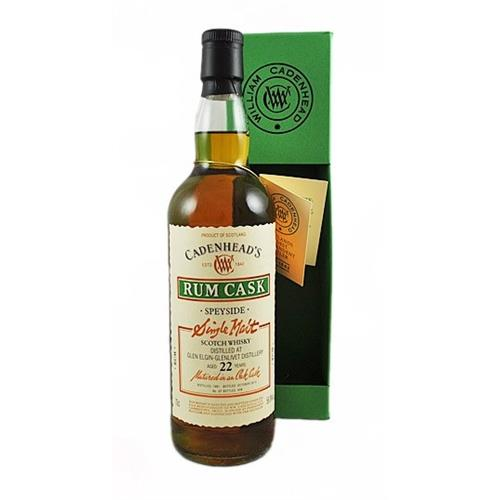 Glen Elgin 22 years old Rum Cask Cadenhead 56.8% 70cl Image 1