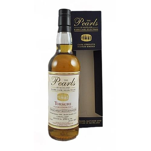 Tormore 1995 Cask Strength The Pearls of Scotland 47.6% 70cl Image 1