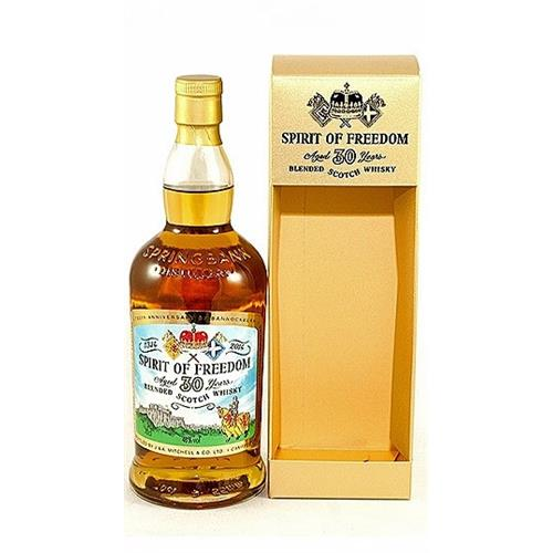 Spirit of Freedom 30 years old 46% 70cl Image 1