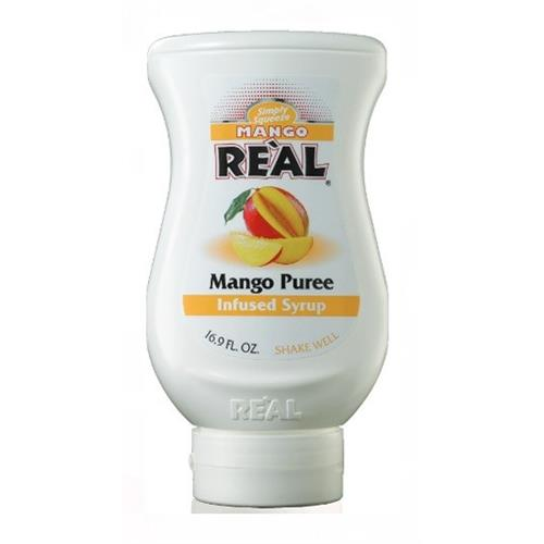 Real Mango Puree infused Syrup 500ml Image 1