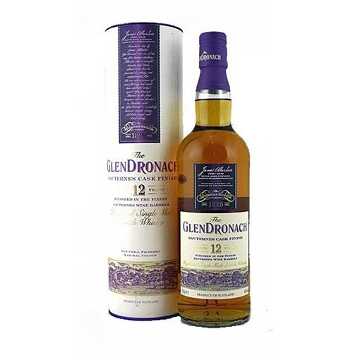 The Glendronach 12 years old Sauternes 46% 70cl Cask Finish Image 1