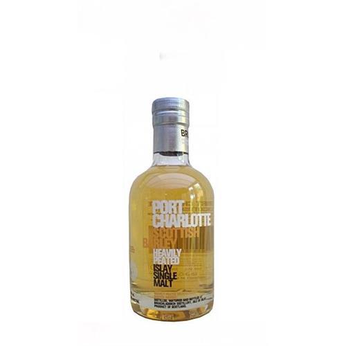 Port Charlotte Scottish Barley Heavily Peated Bruichladdich 50% 20cl Image 1