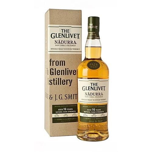 Glenlivet Nadurra 16 years old 55.7% 70cl Image 1