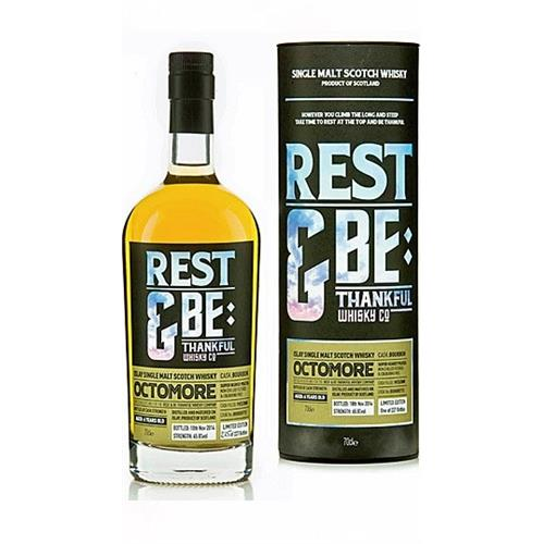 Octomore 6 years old Rest & Be Thankful Whisky Co 63.8% 70cl Image 1