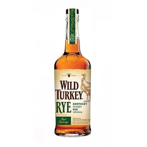 Wild Turkey Rye 40.5% vol 70cl Image 1