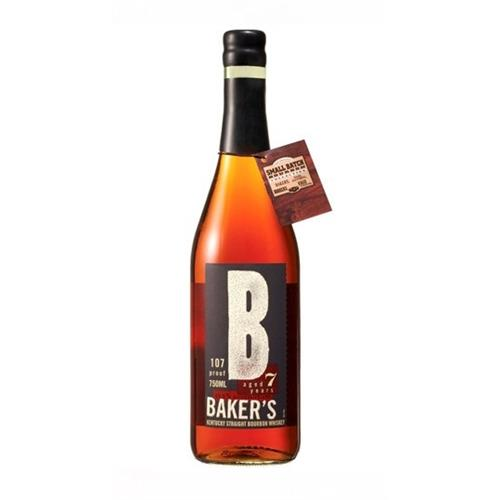 Bakers Bourbon 7 years old 107 Proof 53.7% 70cl Image 1