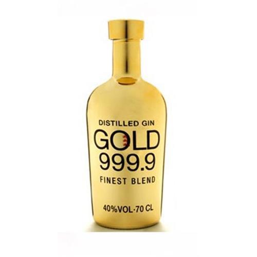 Gold 999.9 Finest Blend Gin 40% 70cl Image 1