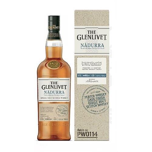 The Glenlivet Nadurra Peated Cask Finish 61.8% 70cl Image 1