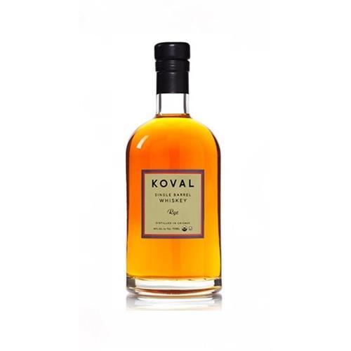 Koval Single Barrel Rye Whiskey 40% 50cl Image 1