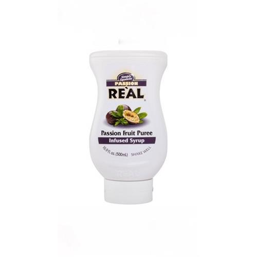 Real Passion Fruit Puree 500ml Image 1