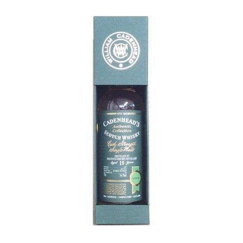 Mannochmore 19 years old 1997 Cadenheads 54.7% 70cl Image 1