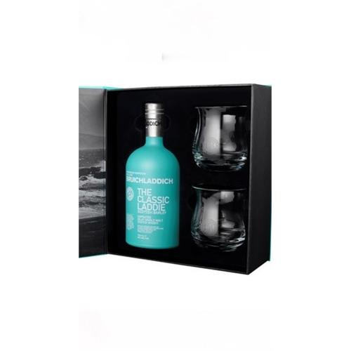 Bruichladdich Classic Laddie Glass Pack 50% 70cl Image 1