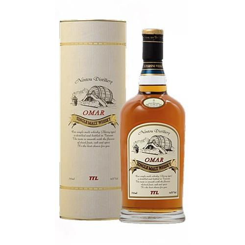 Omar Sherry Cask Single Malt 46% vol 70c Image 1