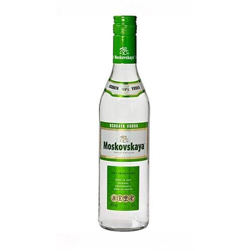 Moskovskaya Vodka 38% vol 70cl Image 1