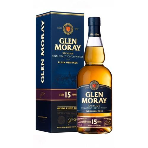 Glen Moray 15 years old 40% 70cl Image 1