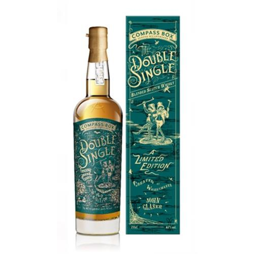 Compass Box The Double Single Blended Scotch 46% 70cl Image 1