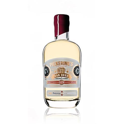 Pickerings Oak Aged Gin Speyside 47% 35c Image 1