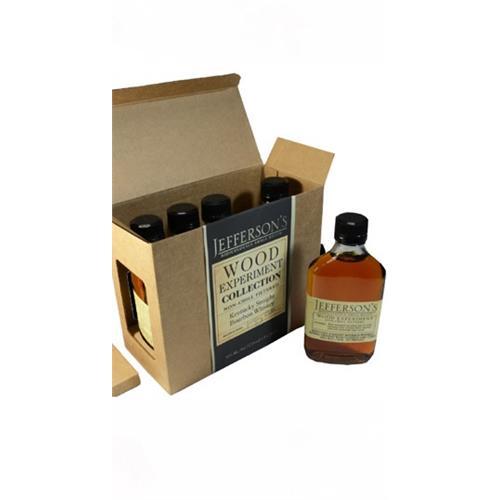 Jeffersons Wood Experiment Box set 1 46% 5x20cl Image 1