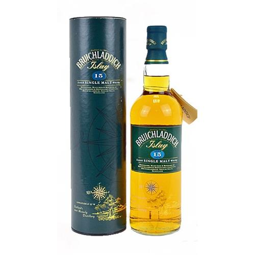 Bruichladdich 15 years old (Green Tube) Image 1