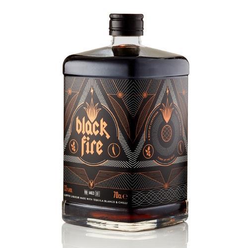 Black Fire Coffee Liqueur 33% 70cl Image 1