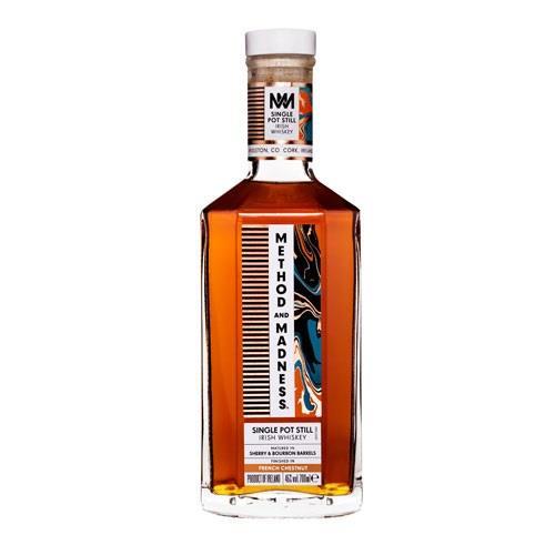 Method & Madness Single Pot Still Irish Whiskey 70cl Image 1