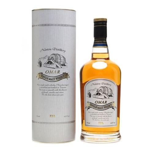 Omar Bourbon Cask Single Malt 46% vol 70cl Image 1