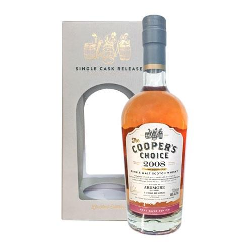 Coopers Choice Ardmore 2008 Port Cask 46 Image 1