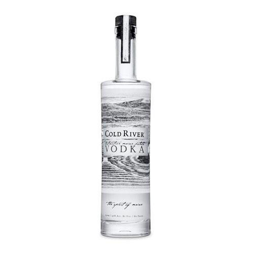Cold River Vodka 40% 75cl Image 1