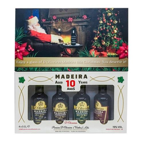 Madeira D'Oliveiras Miniature Gift Pack 10 Year Old Image 1