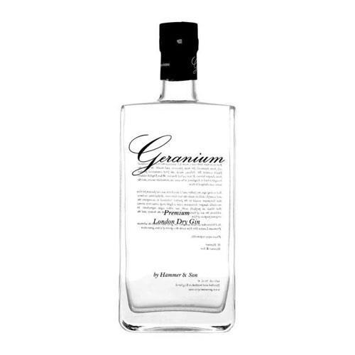 Geranium London Dry Gin 44% 70cl Image 1