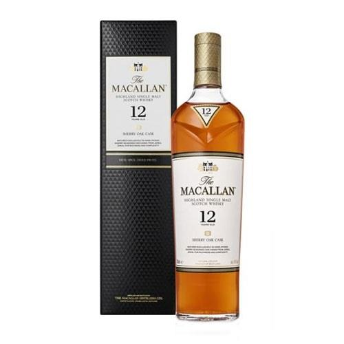 The Macallan 12 years old Sherry Cask 40% 70cl Image 1
