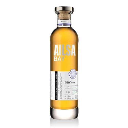 Ailsa Bay Release 1.2 Single Malt whisky 48.9% 70cl Image 1